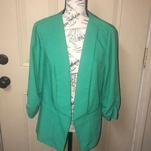 Torrid Green Blazer